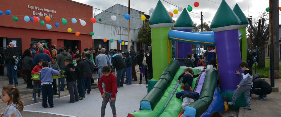 Más de 400 chicos festejaron el Día del Niño en la Delegación Zona I