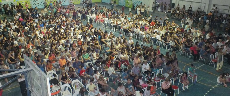 Más de 600 personas participaron de la Fiesta del Deporte