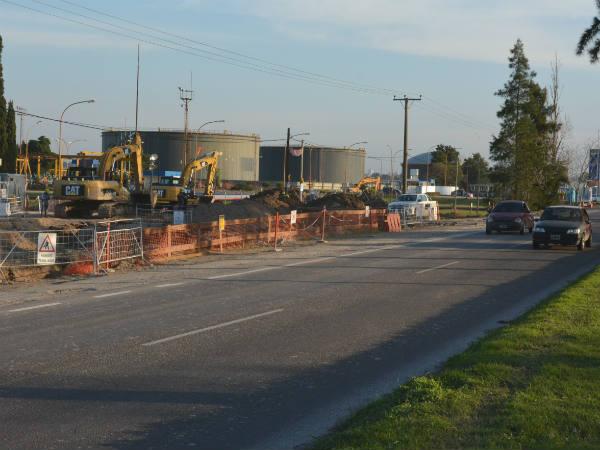 Por obras se desviará de manera parcial el tránsito sobre Avenida del Petróleo