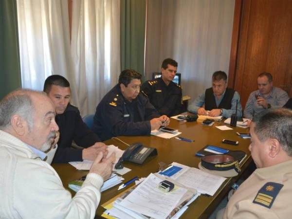 El Municipio y las fuerzas de seguridad coordinan acciones conjuntas