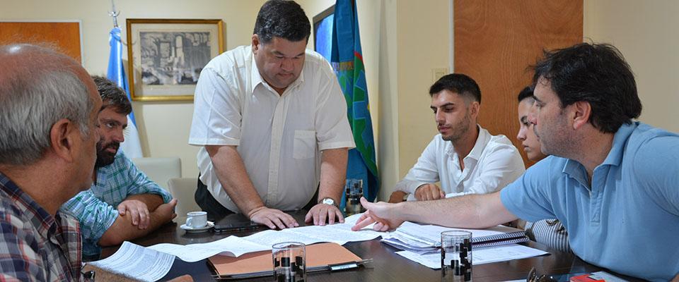 El Municipio y ATULP comparten gestiones para construcción de plan de viviendas en terrenos de la UNLP