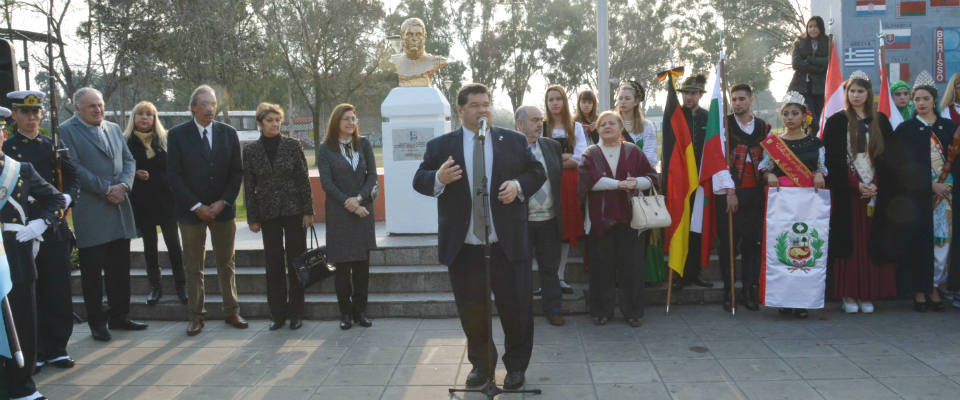El intendente Nedela encabezó el Acto Central por el 146º aniversario de la Fundación de la ciudad de Berisso