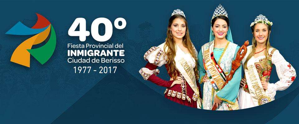 Comienzan los festivales y patio de comidas de la 40° Fiesta Provincial del Inmigrante