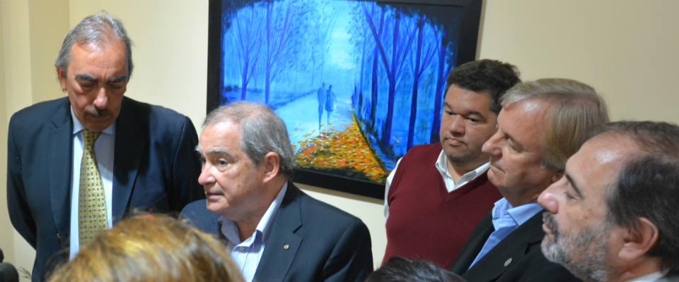 El intendente Nedela recibió al ministro nacional de Salud Jorge Lemus