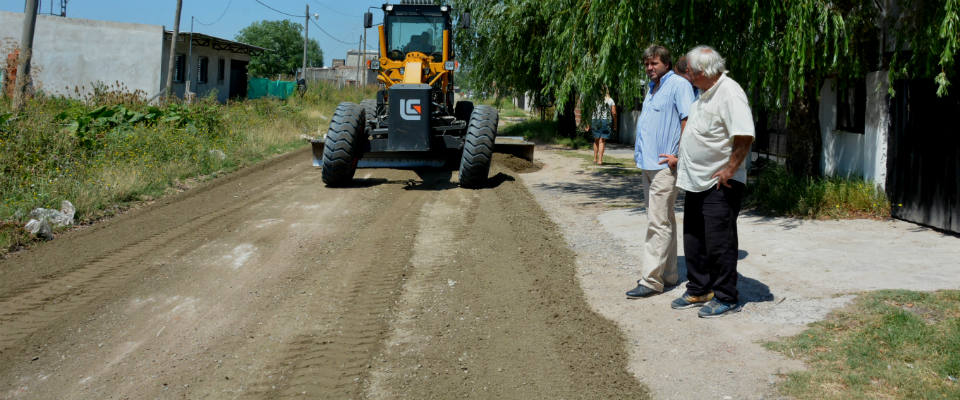 Más de cien cuadras fueron reparadas con material estabilizado en los barrios de la Delegación Municipal Zona I