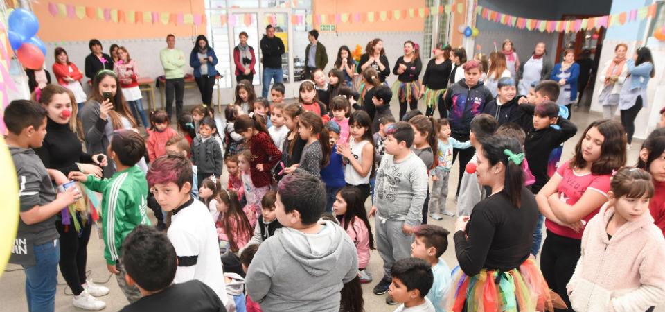 Festejos por el Día del Niño en el Hogar San Martín