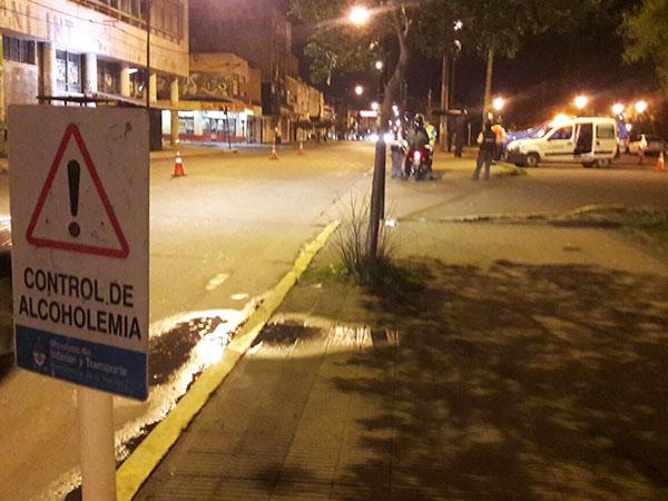 Preocupación desde el Municipio por alta cantidad de casos de alcoholemia positiva detectados