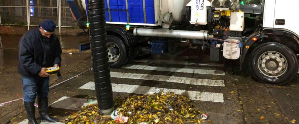 Más de 150 milímetros de agua de lluvia caída afectaron a la ciudad