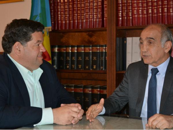 Nedela se entrevistó con el vicegobernador Daniel Salvador
