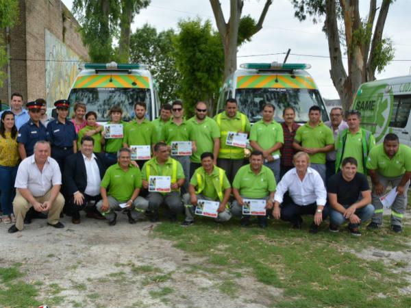 En el primer aniversario de funcionamiento del SAME Nedela destacó la importancia de este servicio para la comunidad