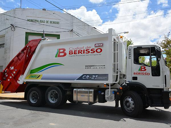 Habrá Servicio de Recolección de Residuos durante los feriados de lunes 27 y martes 28