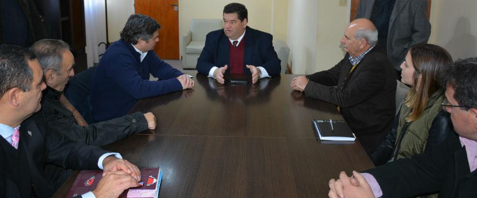 Nedela y el ministro de Desarrollo Social acordaron la puesta en marcha de nuevos programas de asistencia barrial