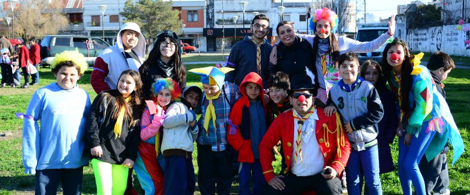 A todo color se festejó el Día del Niño en el Parque Cívico