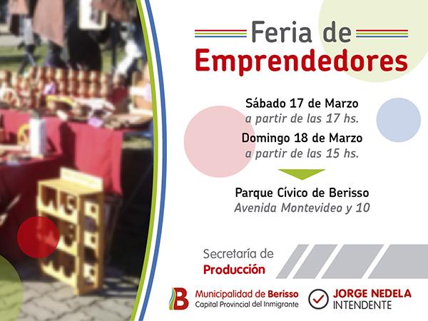 """Llega la primera """"Feria de Emprendedores"""" del año"""